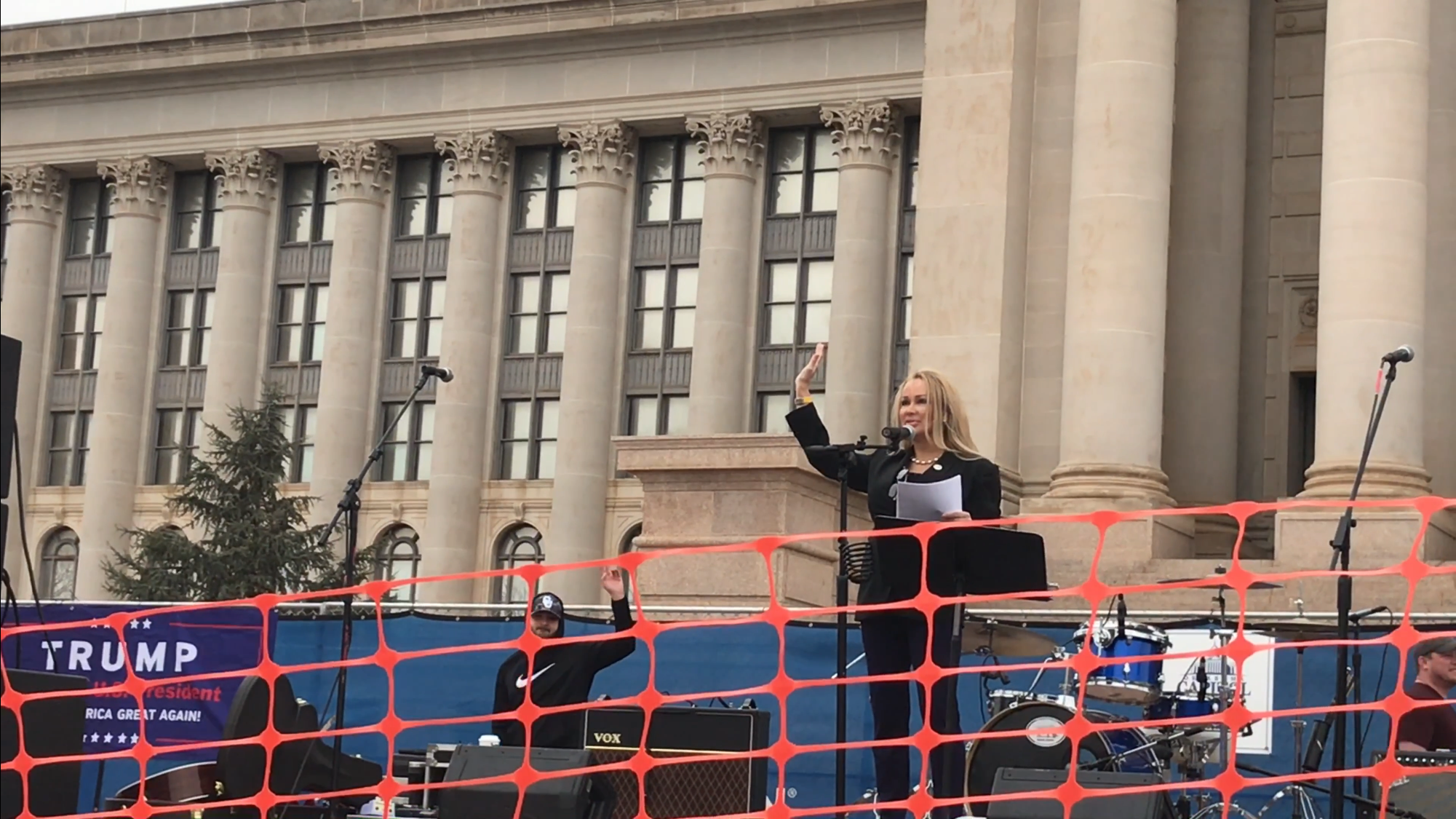 VIDEO and TRANSCRIPT of MARCH4TRUMP: Lisa Christiansen's Speech at The Oklahoma State Capitol